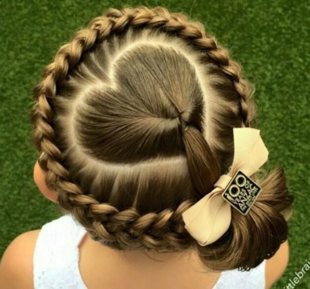 Easy Hair Styles For Kids 15 Easy Kids Hairstyles For Children With Short Or Long Hair