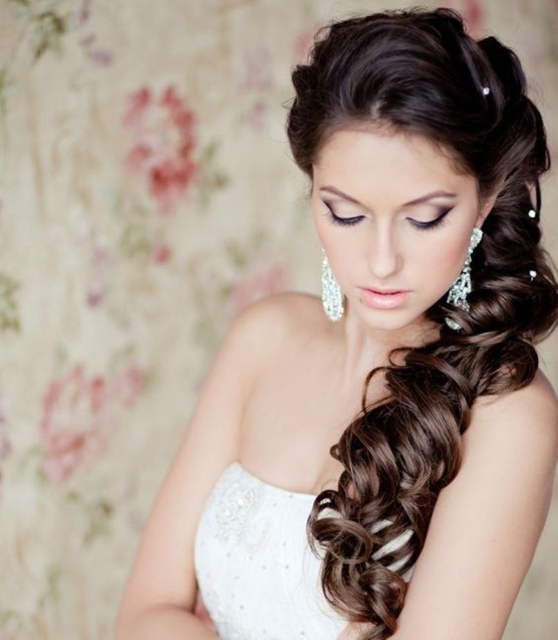28 Prettiest Wedding Hairstyles: 15 Wedding Hairstyles For Long Hair That Steal The Show