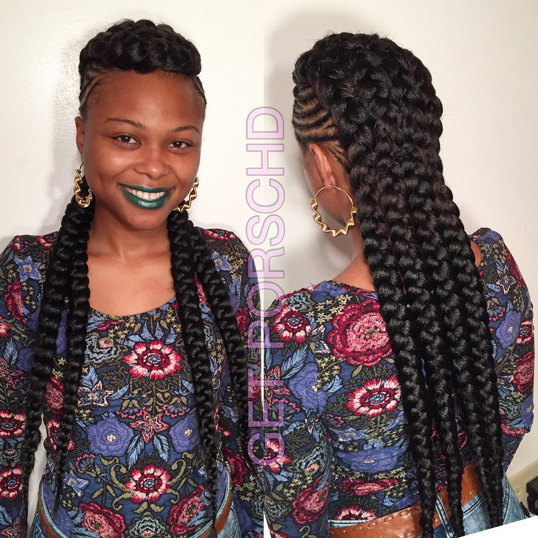 African Braids 15 Stunning Hair Braiding Styles And Pictures