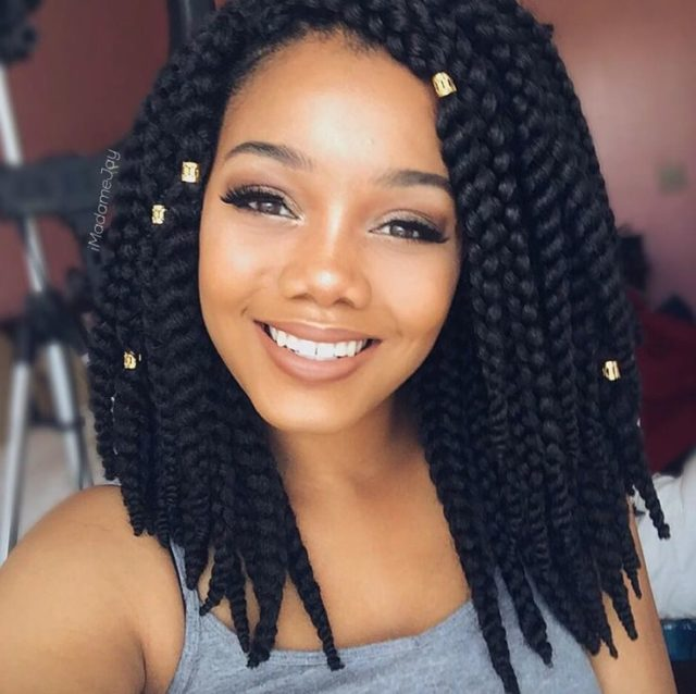 12 Jumbo Box Braids Styles that Make Bold Fashion Statement